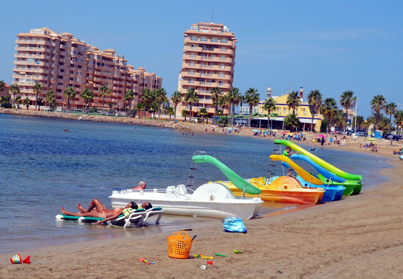 Ferienwohnung in Manga del Mar Menor - Los Miradores del Puerto - 5207
