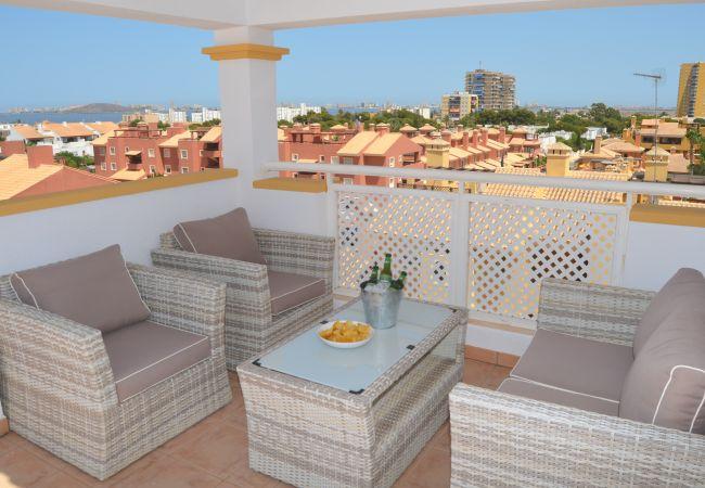 Ferienwohnung in Mar de Cristal - Ribera Beach 2 - 8505