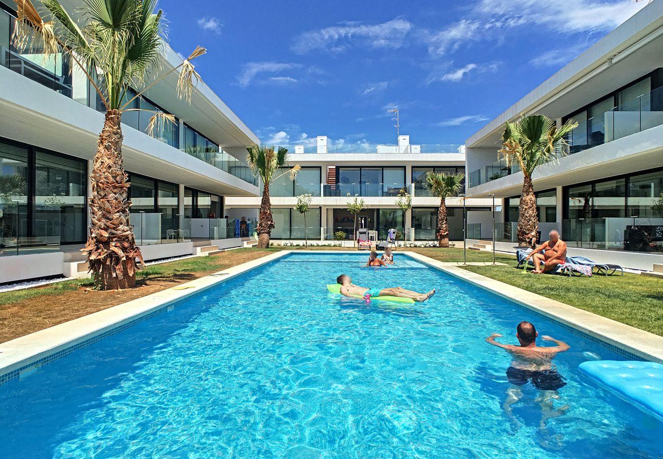 Ferienwohnung in Mar de Cristal - Antilia Terraces Apartment - 1809