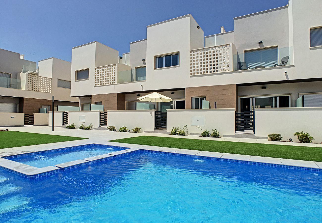 Ferienhaus in Santiago de la Ribera - Azucena Del Mar V - 3109