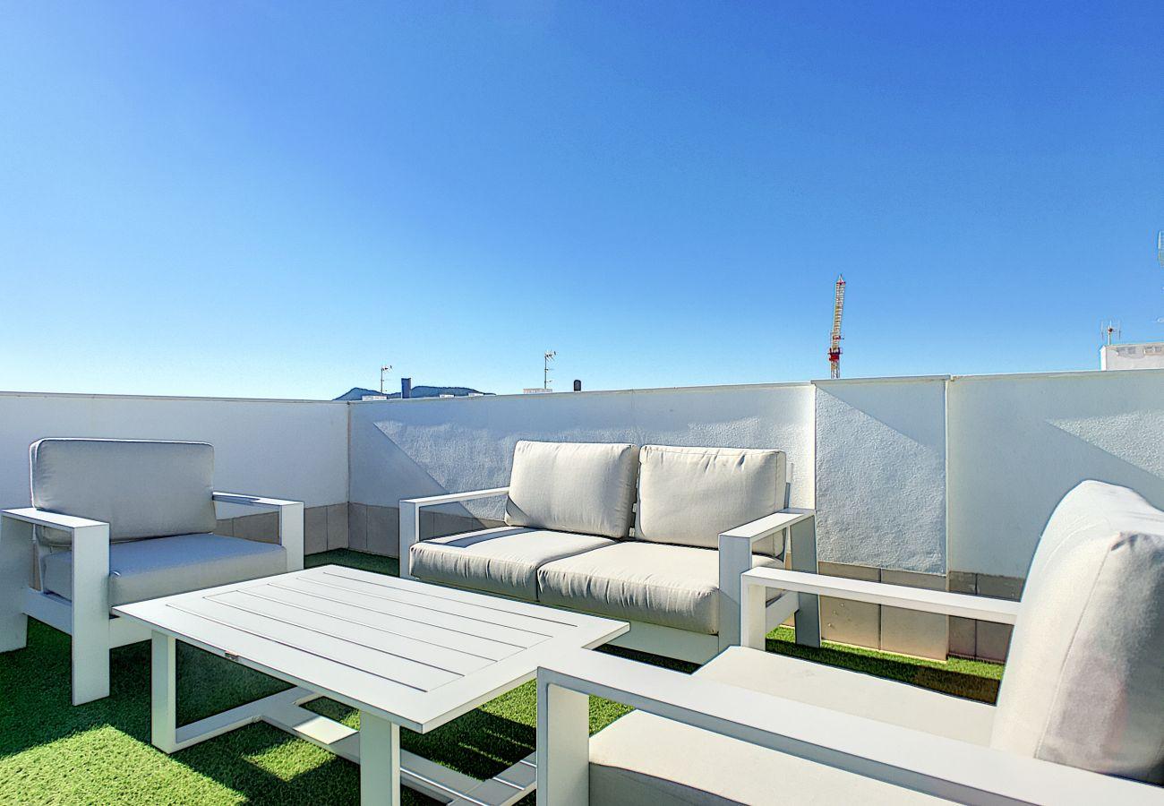Ferienwohnung in Mar de Cristal - Antilia Terraces 2 Penthouse - 3209