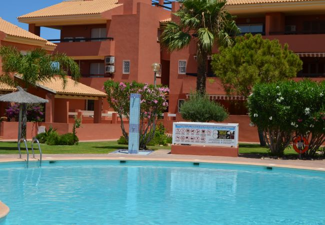 Exterior view of ground floor apartment in Mar de Cristal from Resort Choice