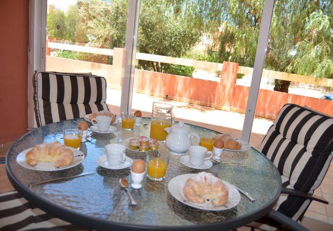 Beautiful Terrace in Apartment - Resort Choice