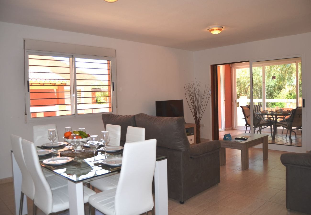 Large Living Room in Mar de Cristal apartment from Resort Choice Rental
