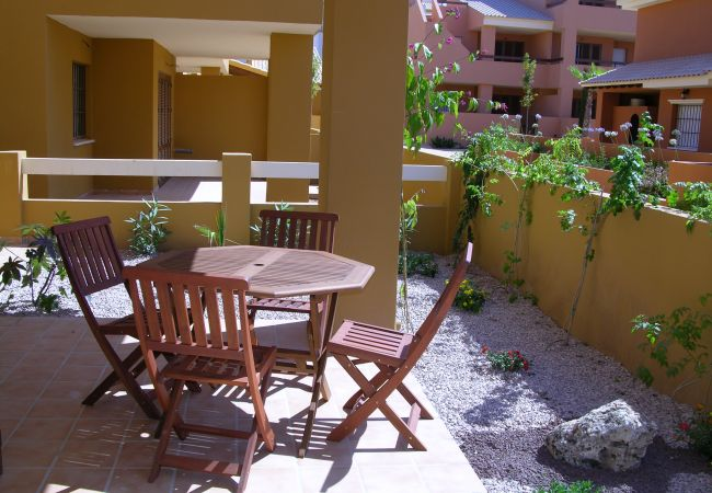 Private terrace in apartment - Resort Choice