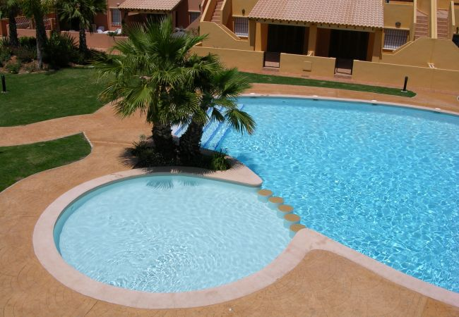 Top view of Swimming pool in Albatros 3 - Resort Choice