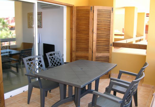 Well equipped sitting area in terrace - Resort Choice