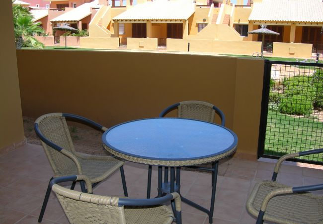 Spacious terrace with private patio and sitting area - Resort Choice