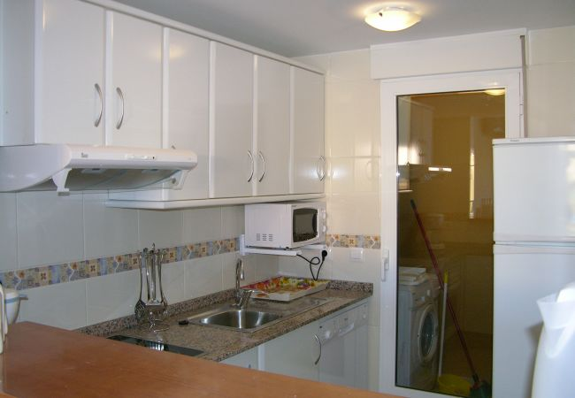 Spacious kitchen with utility room - Resort Choice