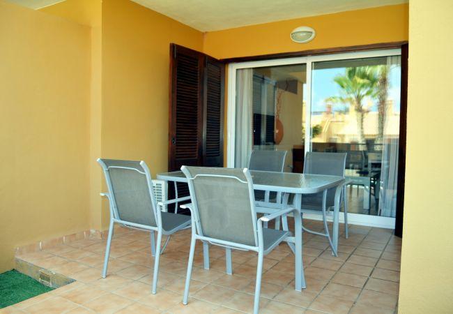 Terrace in Albatros Playa 3 apartment - Resort Choice