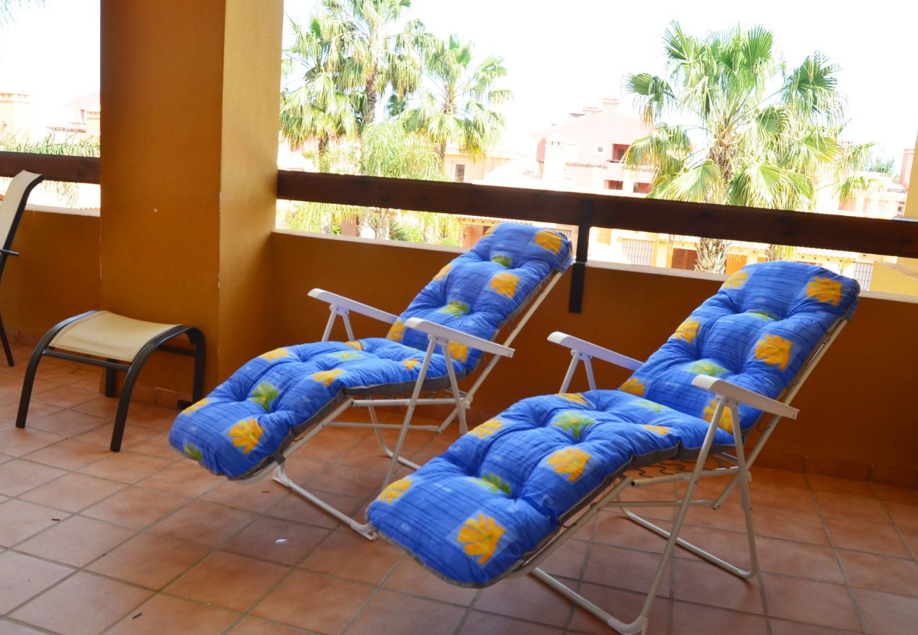 Spacious Balcony with relaxation chairs - Resort Choice