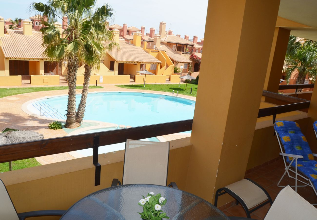 Balcony with beautiful views and sitting area - Resort Choice