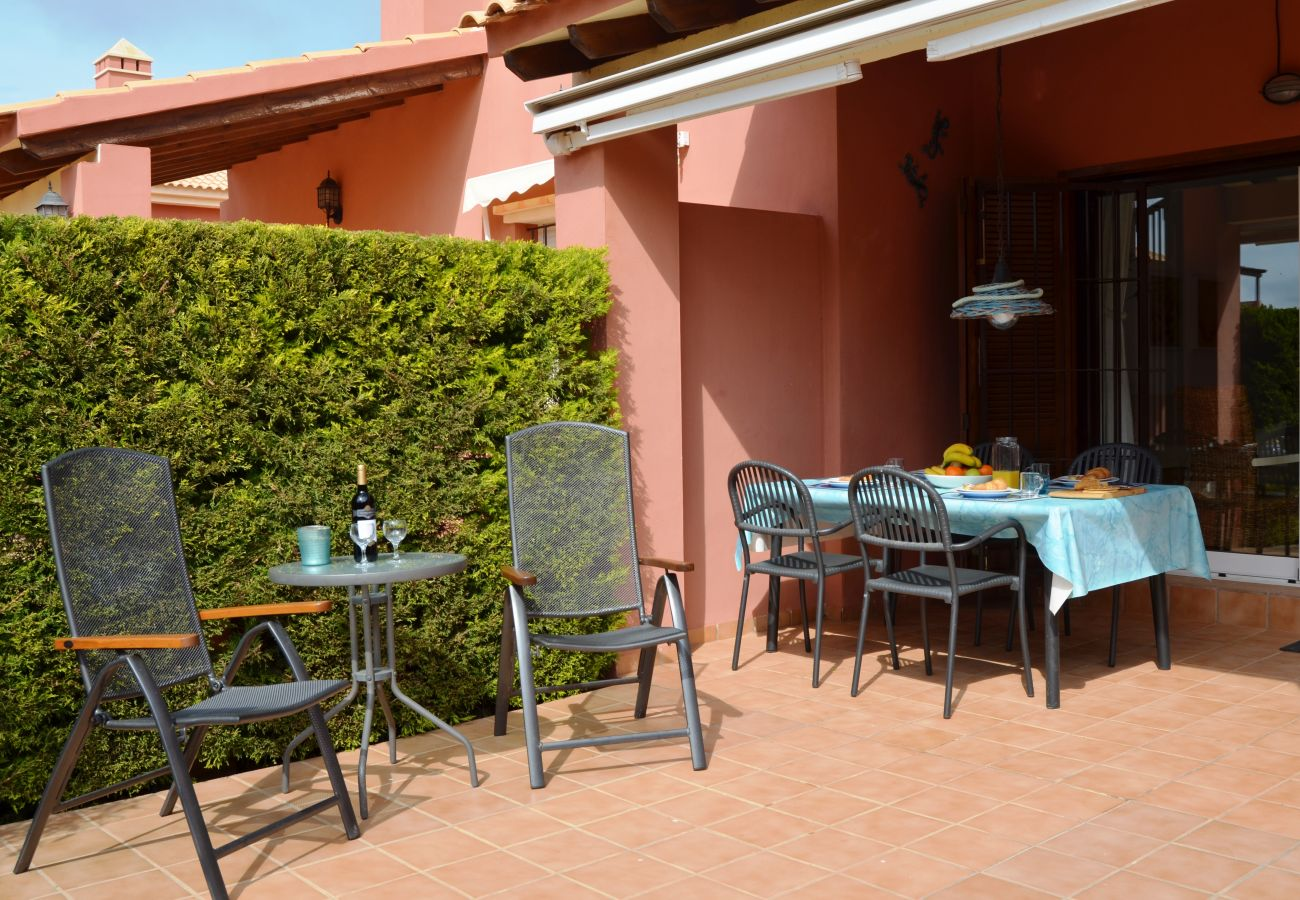 Spacious terrace with sitting area - Resort Choice