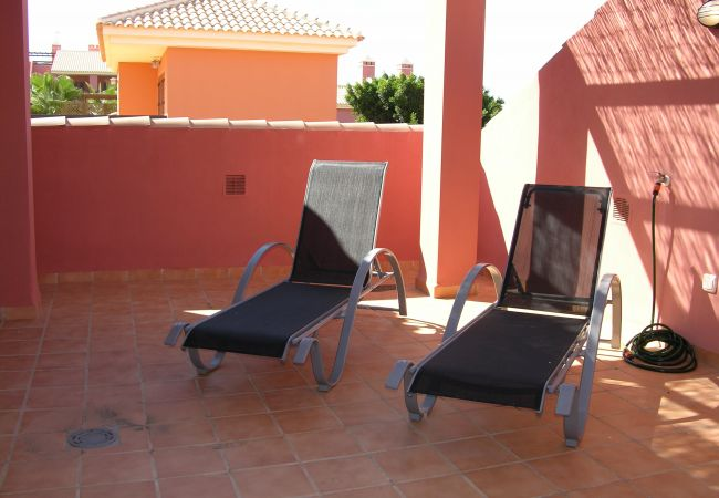 Roof Terrace with Relaxing chairs - Resort Choice