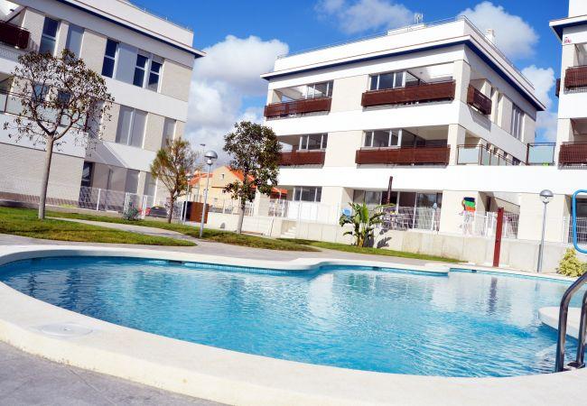 Beautiful Swimming Pool of Santiago de la Ribera Apartment