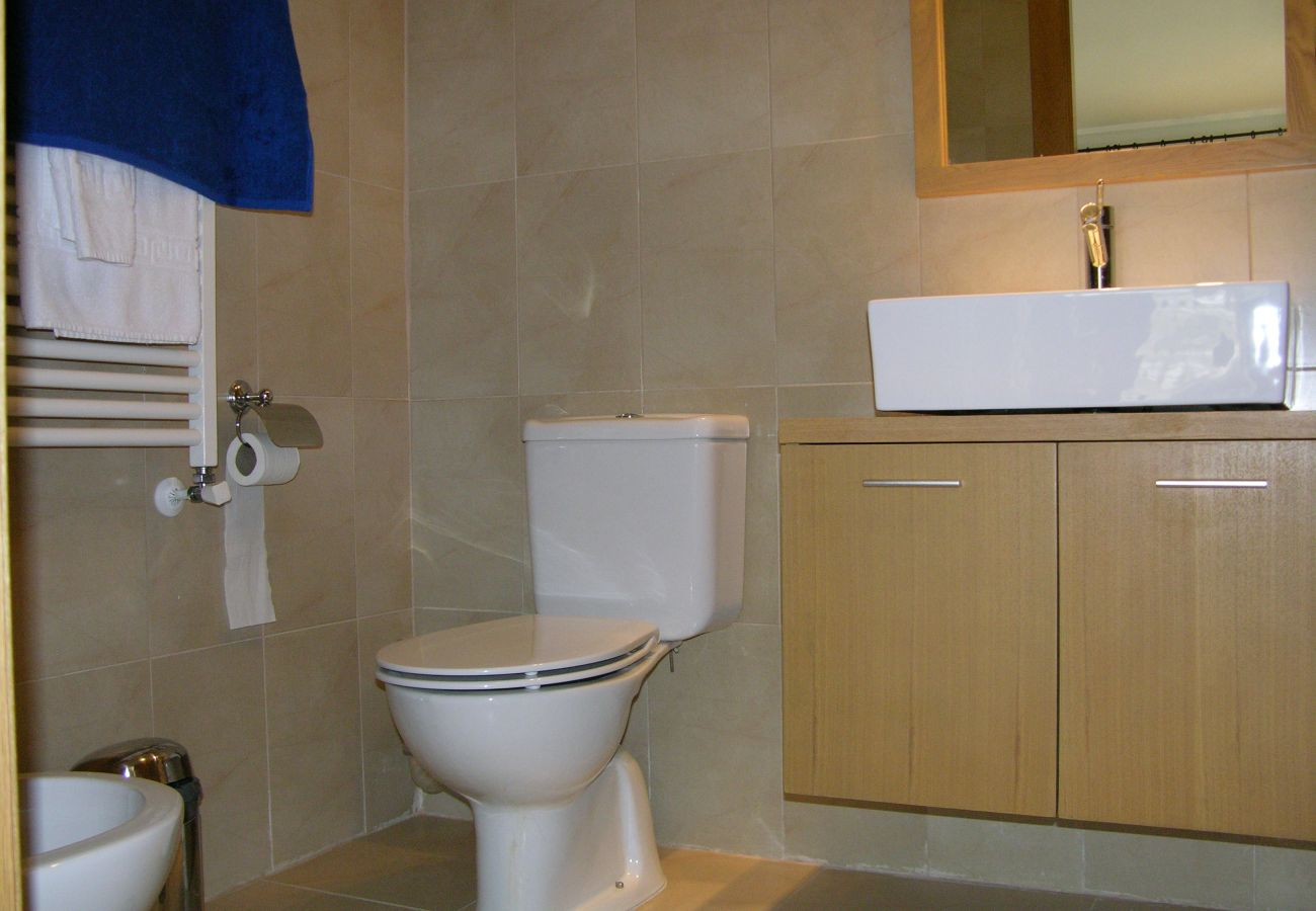 Well equipped bathroom of Hacienda Riquelme apartment