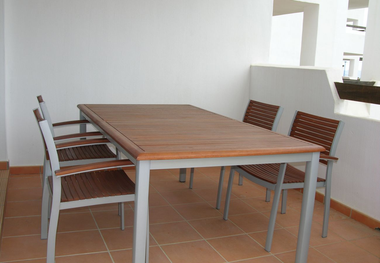 Beautiful terrace of Las Terrazas apartment for relaxation