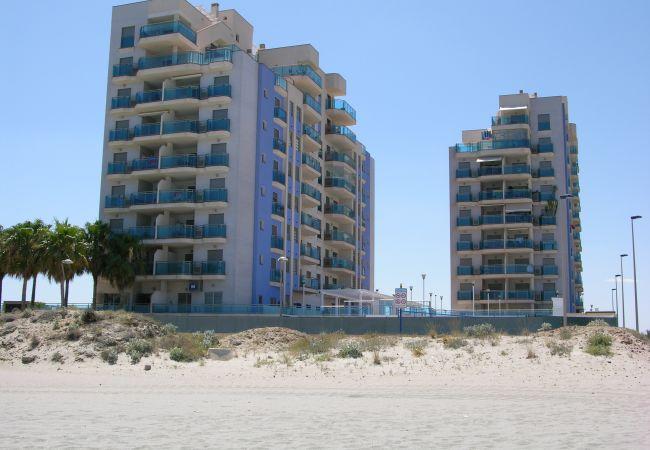 Beautiful exterior of Libertad Dos Playas apartment