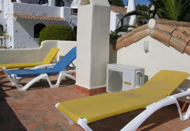 Terrace with well equipped relaxation area - Resort Choice