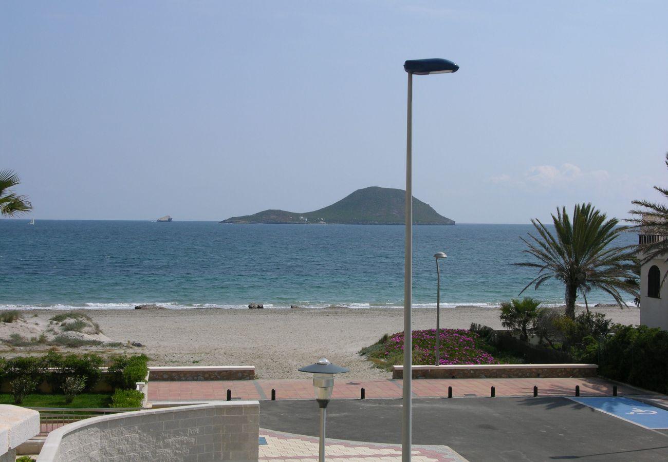 Front view of La Manga Beach - Resort Choice