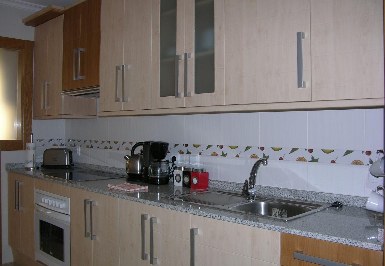Spacious kitchen with modern kitchen ware - Resort Choice