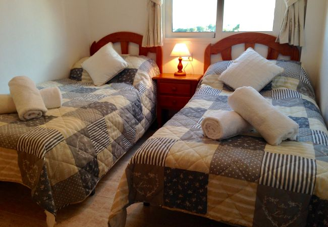 Two single bed bedroom with nice furniture - Resort Choice