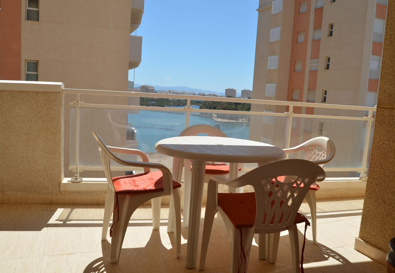 Specious Balcony of Puertomar Apartment for Relaxation