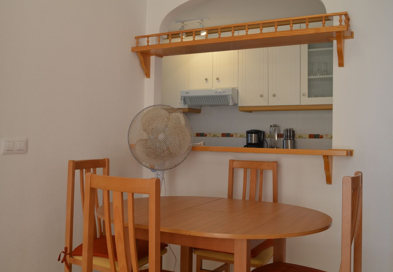Beautiful Dining Room of Puertomar Apartment