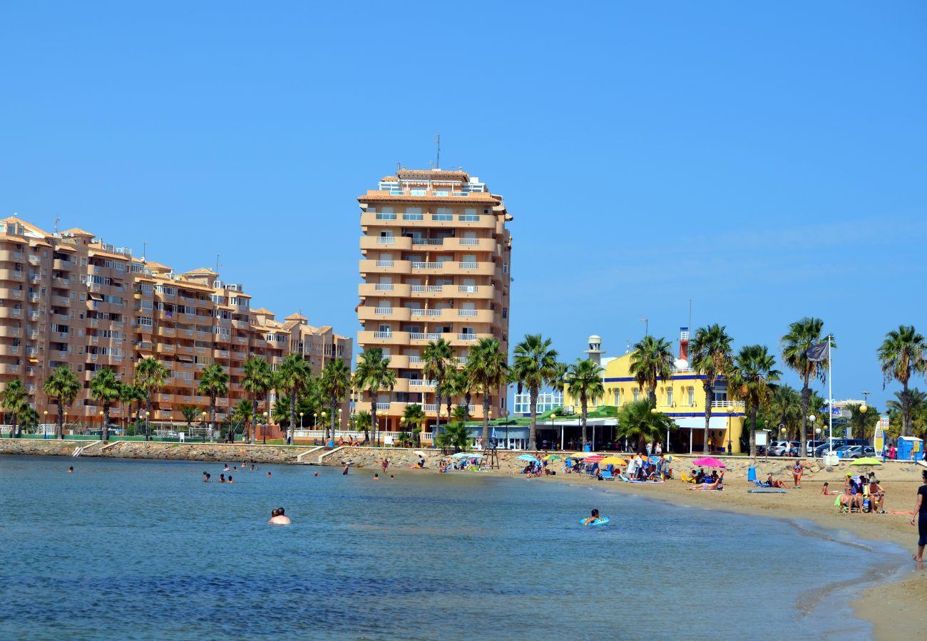 La Manga del Mar Menor Beach