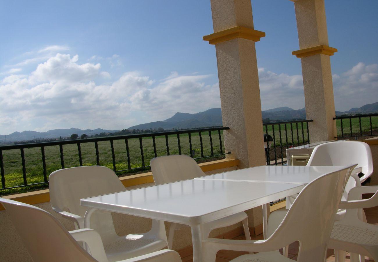 Beautiful Balcony of Puertomar Apartment