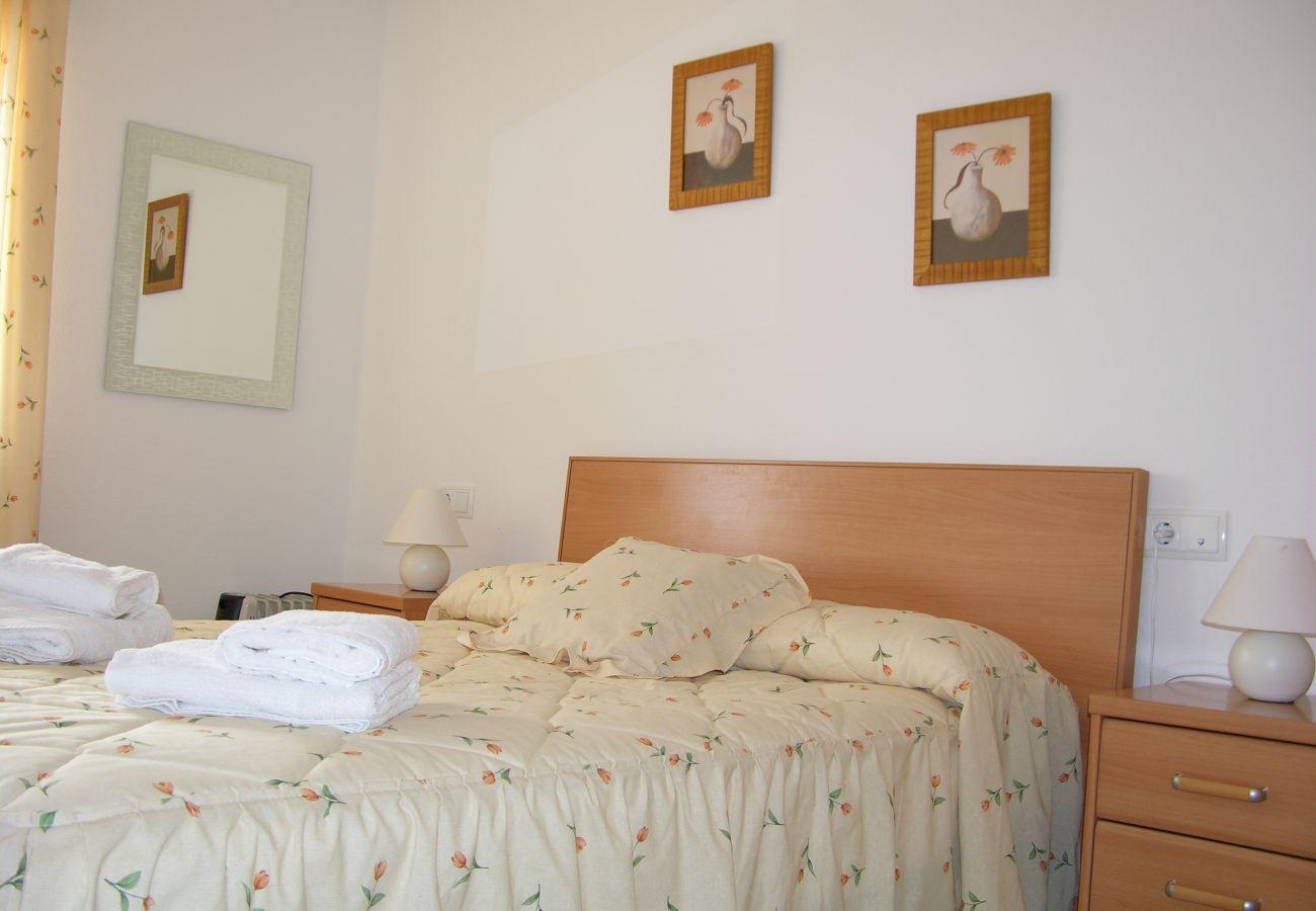 Beautiful Double Bedroom of Puertomar Apartment