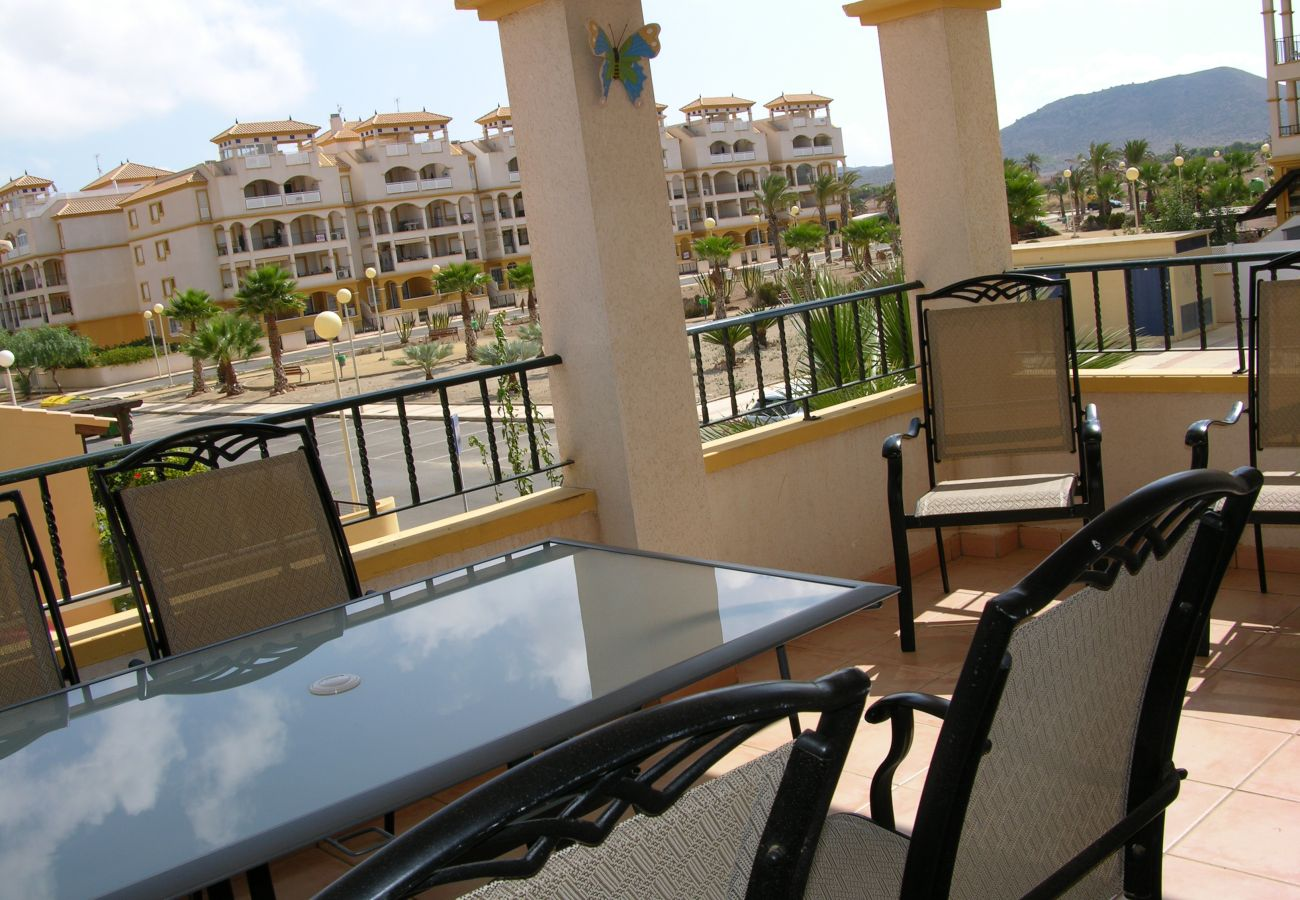 Beautiful Balcony of Ribera Beach Apartment
