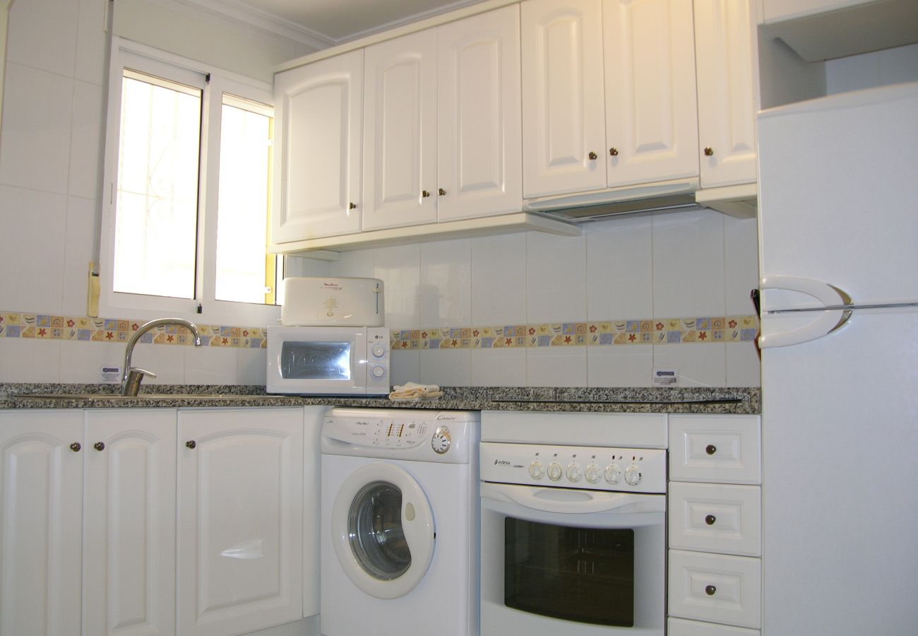 Beautiful Kitchen of Ribera Beach Apartment
