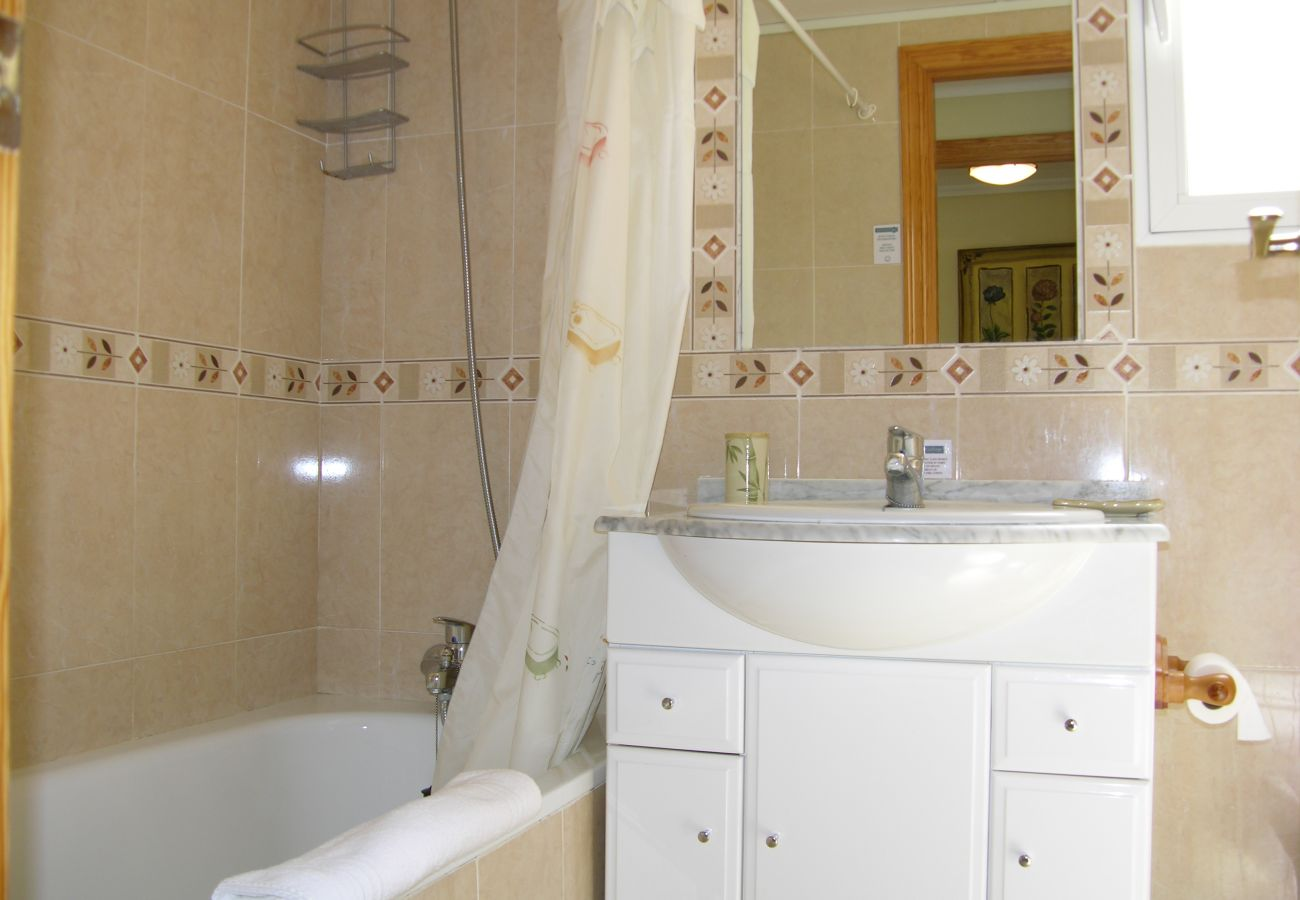 Beautiful Bathroom of Ribera Beach Apartment