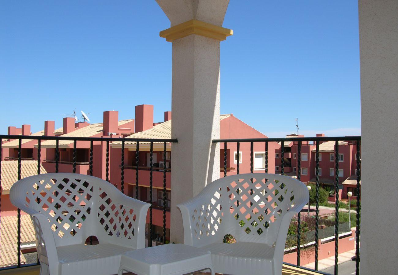 Beautiful Balcony of Ribera Beach Apartment