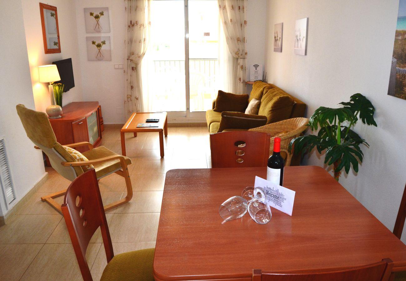 Beautiful Living Room of Ribera Beach Apartment