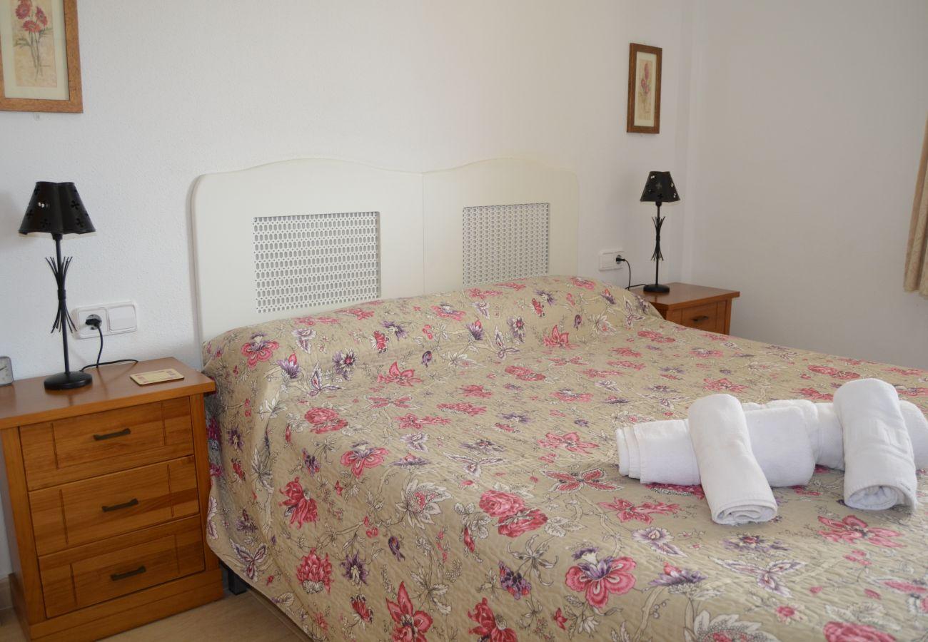 Beautiful Double Bedroom of Ribera Beach Apartment
