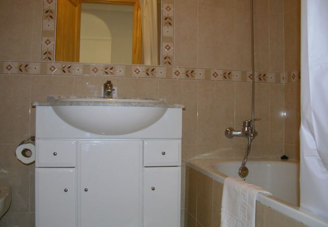 Luxurious Bathroom of Ribera Beach Apartment