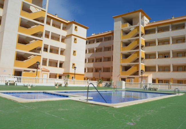 Beautiful Swimming Pool of Ribera Beach 3 Apartment