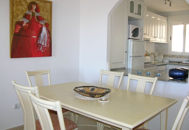 Beautiful Dining Room of Ribera Beach Apartment