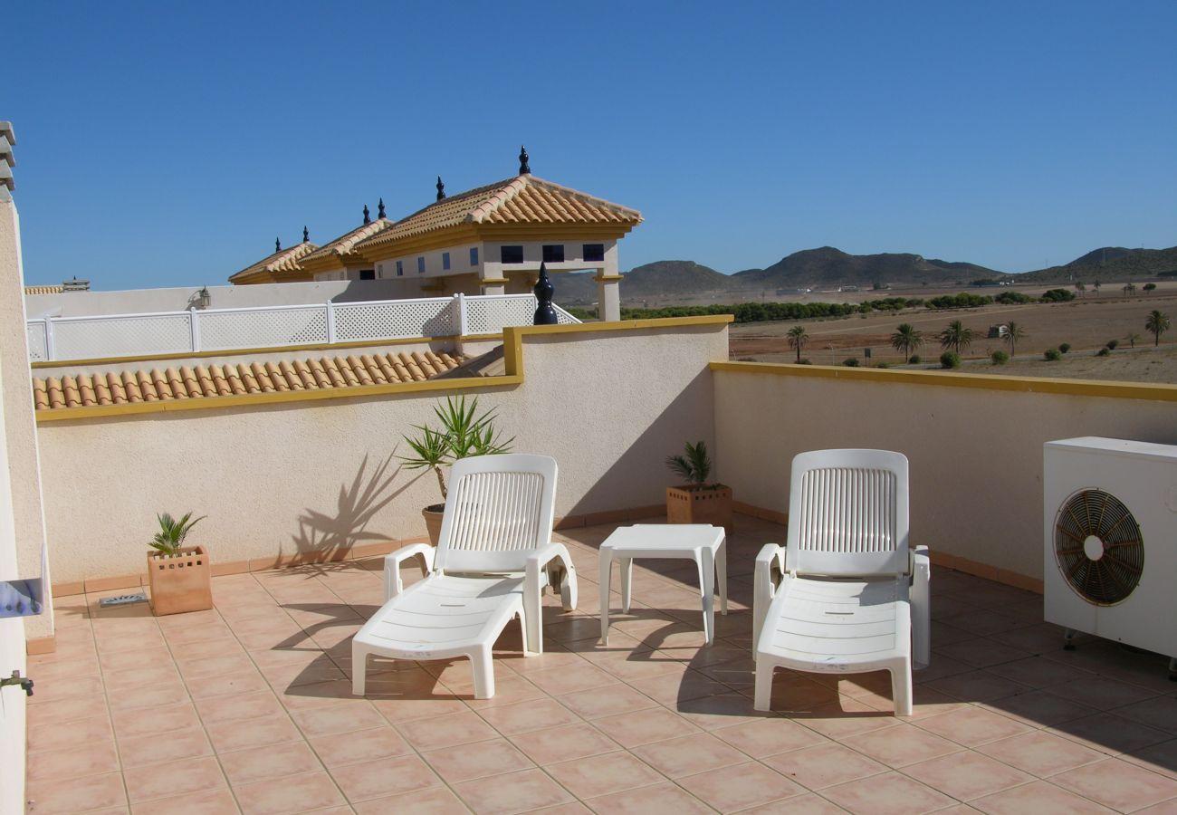 Beautiful Terrace of Ribera Beach Apartment