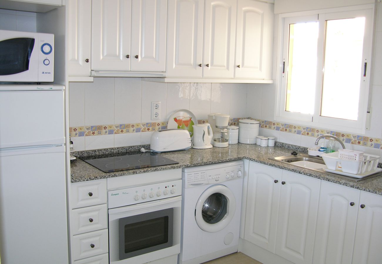 Fully Equipped Kitchen of Ribera Beach Apartment