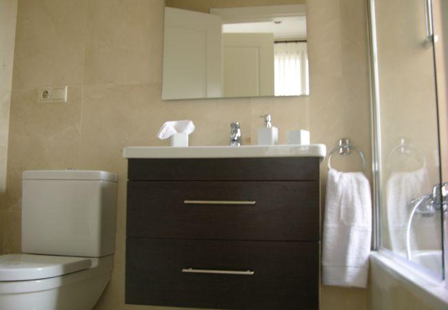 Fully Equipped Bathroom of Roda Golf Resort