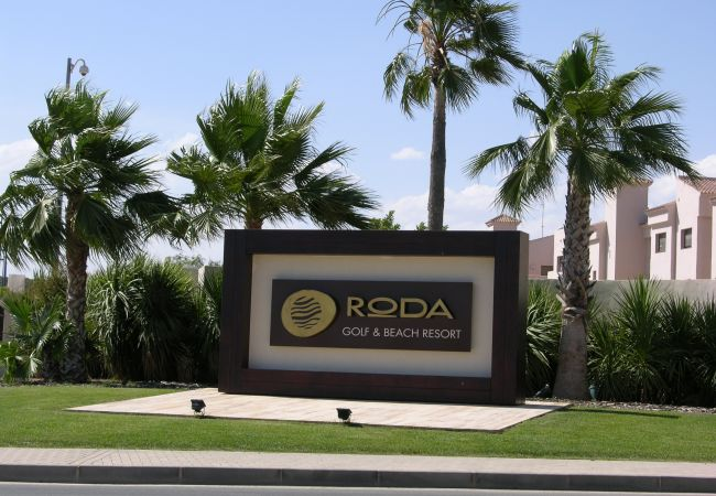 Beautiful Front View of Roda Golf and Beach Resort