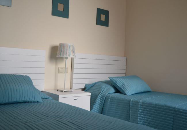 Lovely Bedroom of Roda Golf Resort Apartment