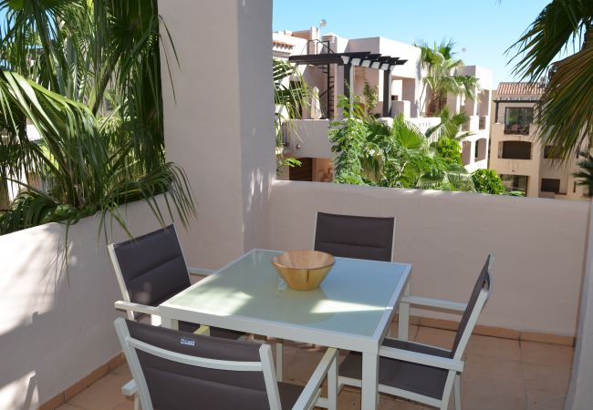 Lovely Balcony of Roda Golf Resort Apartment