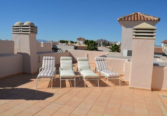 Lovely Terrace of Roda Golf Resort Apartment