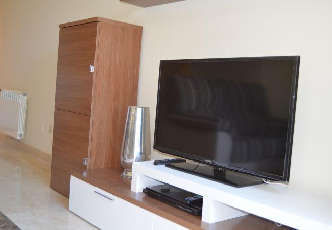 Beautiful Living Room of Roda Golf Resort Apartment