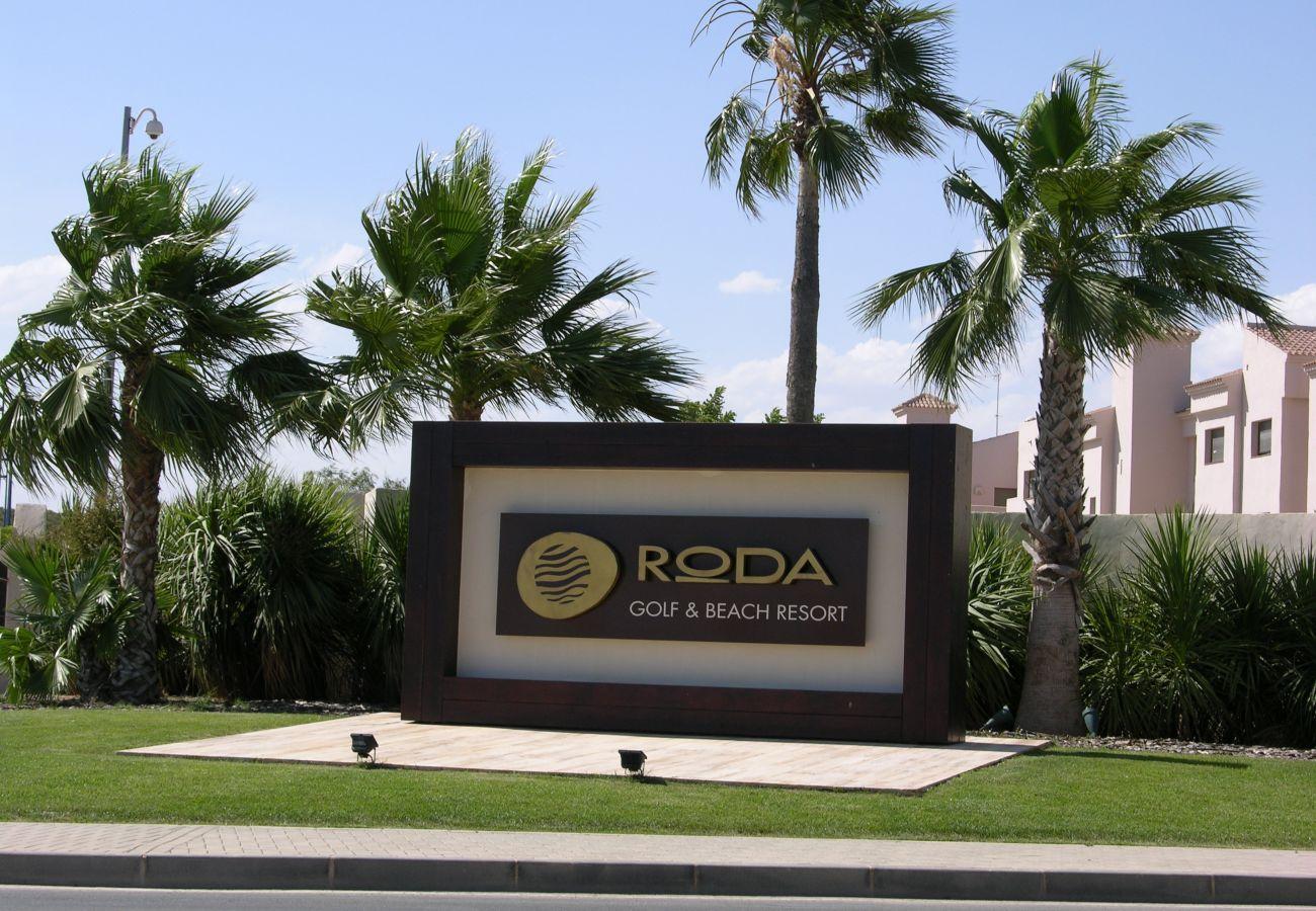 Beautiful Front View of Roda Golf and Beach Resort