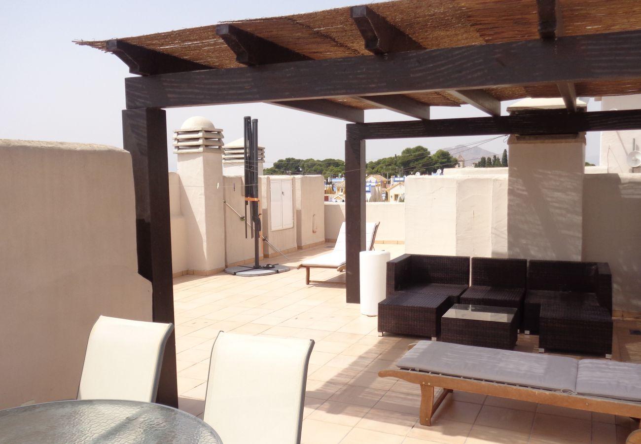 Beautiful Terrace of Roda Golf Resort